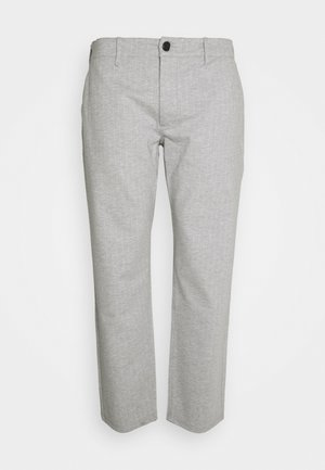 PLUS PONTE ROMA PLAN - Broek - light grey melange