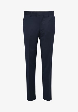 LAS - Suit trousers - dark navy