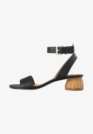 Sandały z cholewką - black