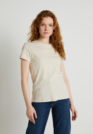 WELLTHREAD PERFECT TEE - T-shirts basic - sand cotton