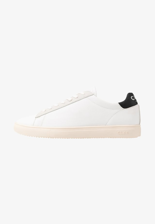 BRADLEY - Sneakers laag - white/black
