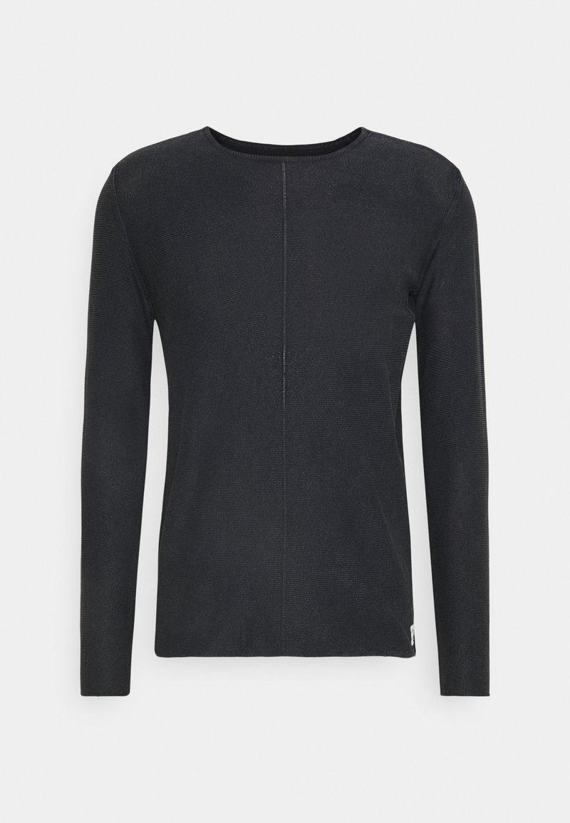 Replay - Stickad tröja - dark navy