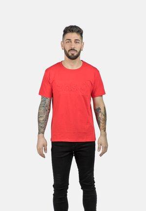 T-shirt imprimé - red