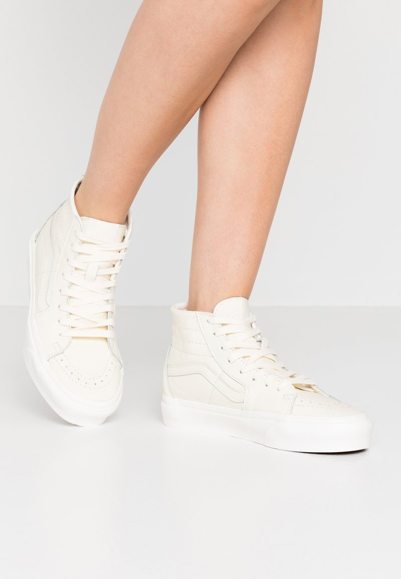 Vans - SK8 TAPERED - Baskets montantes - marshmallow/snow white