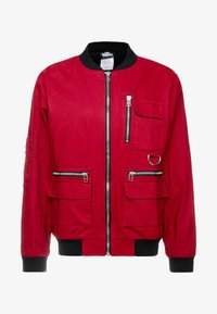 The Ragged Priest - JACKET - Bomber Jacket - burgundy/black - 4