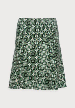 BORDER SKIRT TIMBA - A-line skirt - black