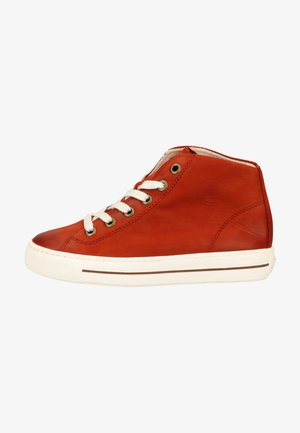 High-top trainers - ziegelrot 227