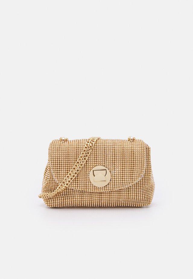 UMA CROSSBODY BAG - Sac bandoulière - gold-coloured