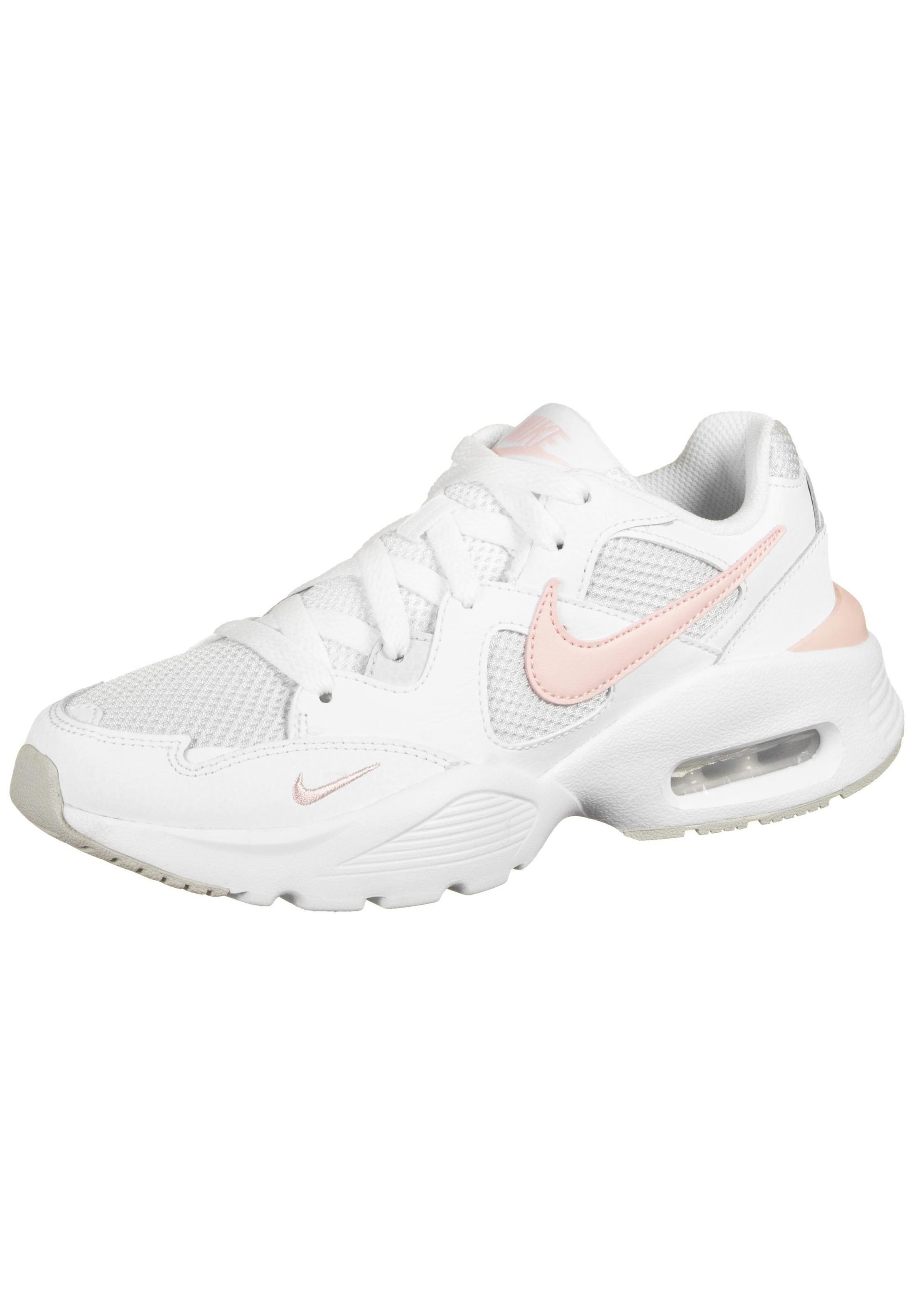 AIR MAX FUSION Sneaker low white washed coral photon dust
