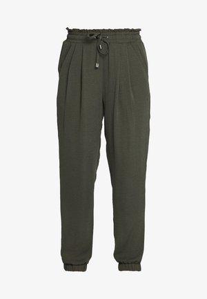 TEXTURE - Pantalon classique - darkkhaki