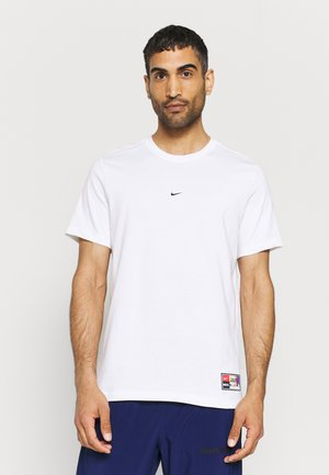 FC TEE SEASONAL - T-shirt z nadrukiem - white