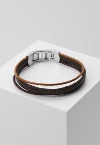 Fossil - MENS DRESS - Bracelet - brown - 0