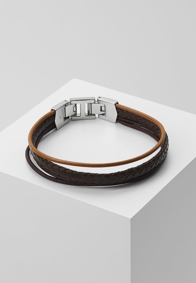 MENS DRESS - Armband - brown