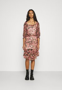 byTiMo - GEORGETTE GATHERS DRESS - Day dress - light pink - 0