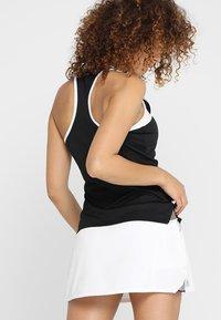 adidas Performance - CLUB TANK - Sports shirt - black - 2
