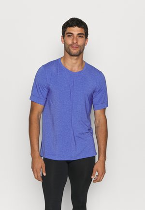 T-shirts basic - lapis/aluminum/black