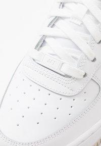 Nike Sportswear - AIR FORCE 1 - Sneakers - white/light bone - 2