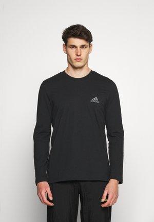 Topper langermet - black