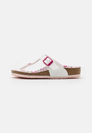 GIZEH KIDS UNICORN - Sandály s odděleným palcem - white