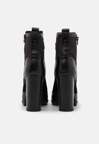 G-Star - LABOUR ZIP - Botines de tacón - black - 3