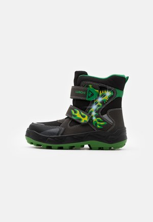 KENUA SYMPATEX - Winter boots - black/green