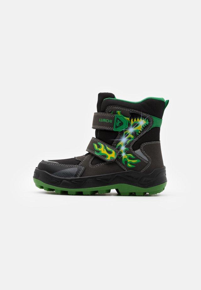 KENUA SYMPATEX - Snowboot/Winterstiefel - black/green