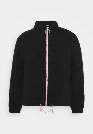 Veste mi-saison - black/pink
