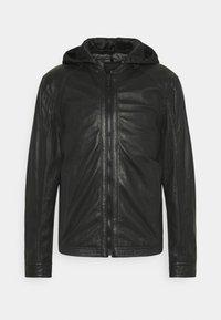Strellson - FANE - Leather jacket - black - 4