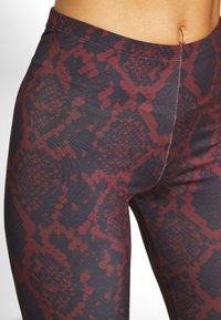ONLY - ONLARIA LONG - Leggings - Trousers - bordeaux - 4