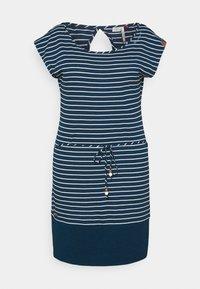 Ragwear Plus - SOHO STRIPE - Žerzejové šaty - navy - 0