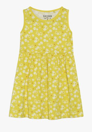 Žerzejové šaty - gelb