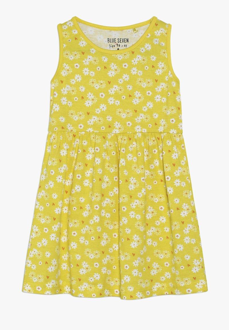 Blue Seven - Žerzejové šaty - gelb
