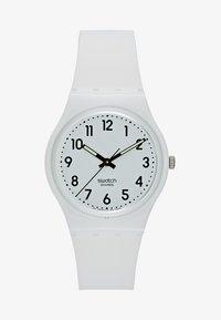 Swatch - JUST WHITE SOFT - Hodinky - white - 1