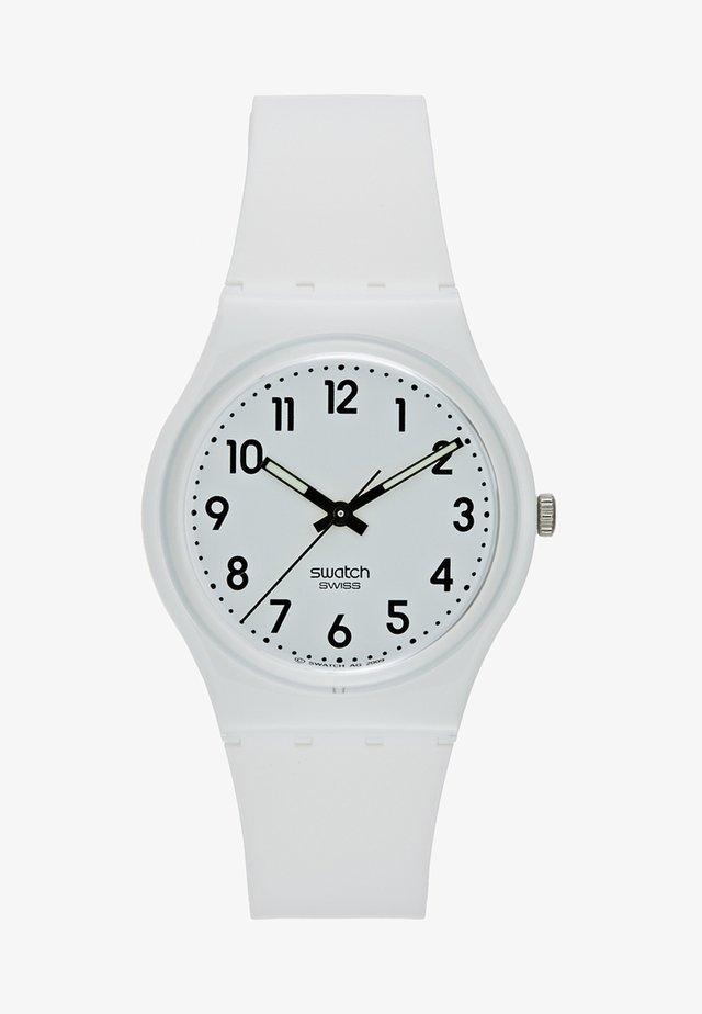 JUST WHITE SOFT - Horloge - white