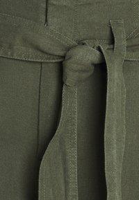 GAP - WIDE LEG SOLID - Pantalones - khaki - 2