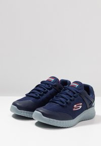 Skechers - ELITE FLEX - Sneaker low - navy/red - 3