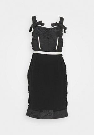 DRESS - Shift dress - fantasy black