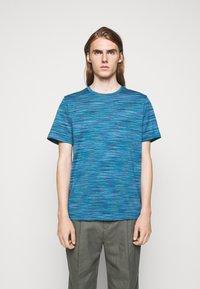Missoni - SHORT SLEEVE - T-shirt con stampa - blue - 0