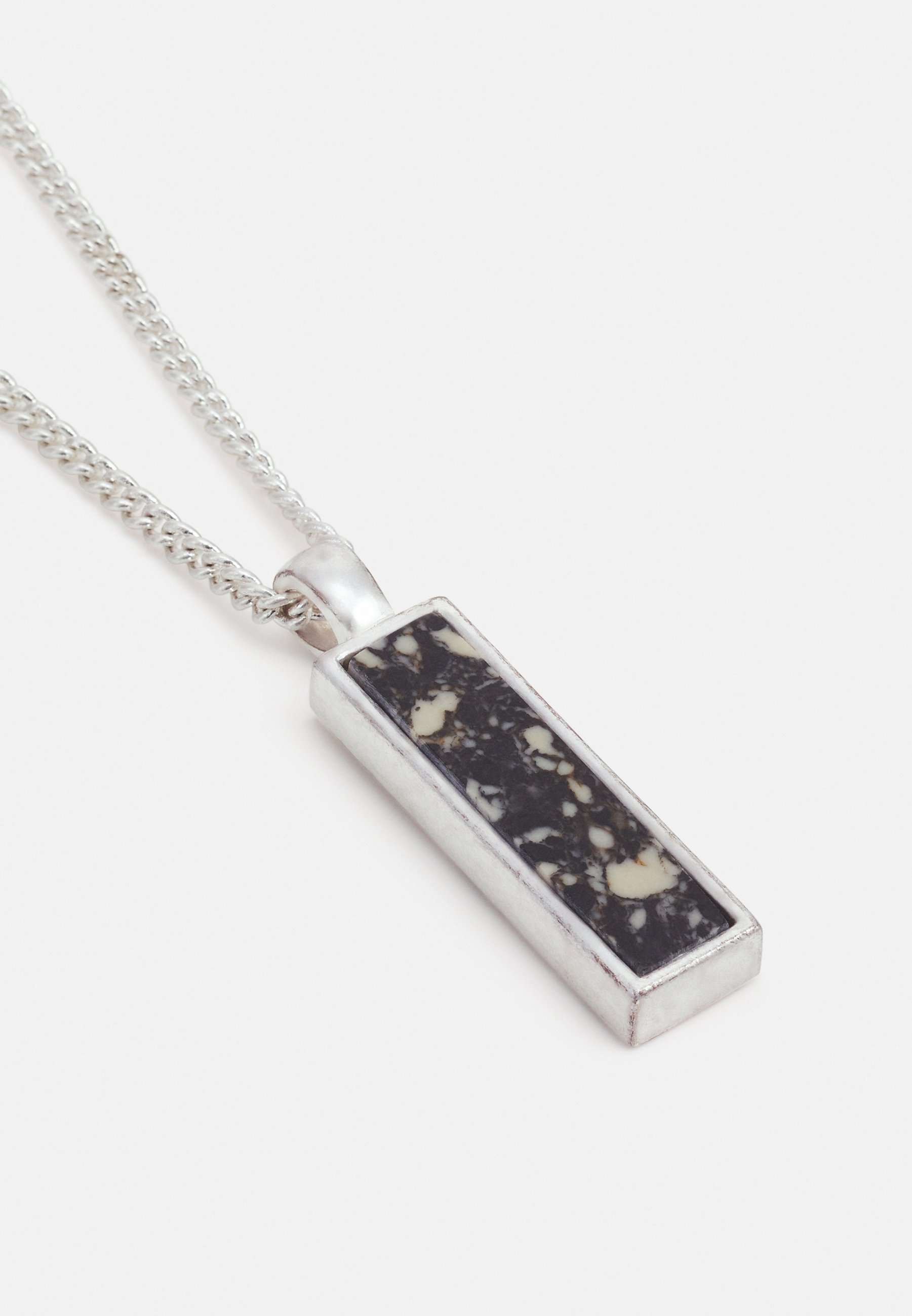 Homme DESERT COMRADE MARBLED RECTANGLE NECKLACE - Collier