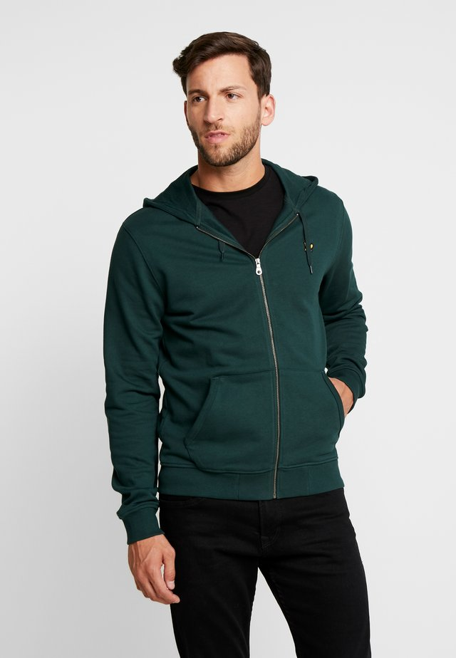 ZIP THROUGH HOODIE - Mikina na zip - jade green