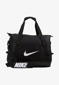 Nike Performance - TEAM DUFF  - Sports bag - black/white - 1