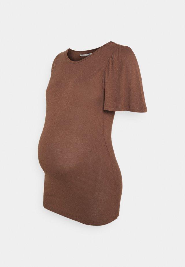 SARDINIE - Printtipaita - brown