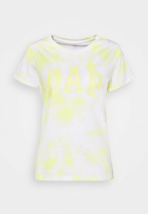 TEE - T-shirt con stampa - yellow tie dye