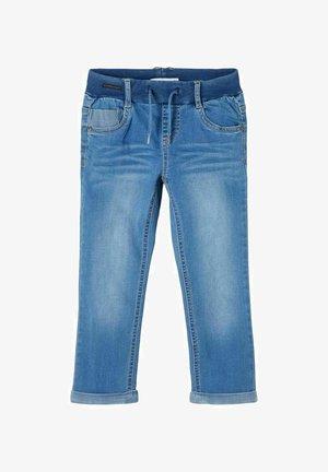 Straight leg jeans - medium blue denim