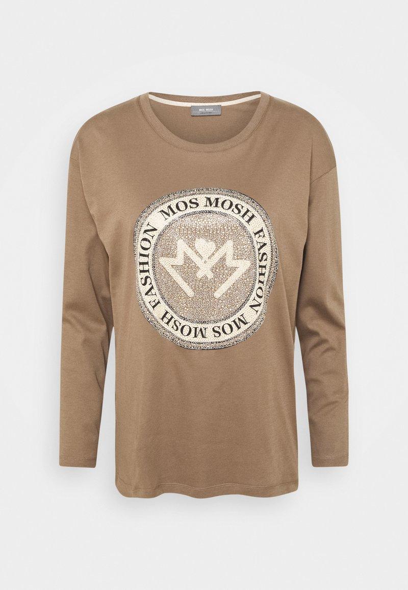 Mos Mosh - LEAH - Top sdlouhým rukávem - chocolate chip