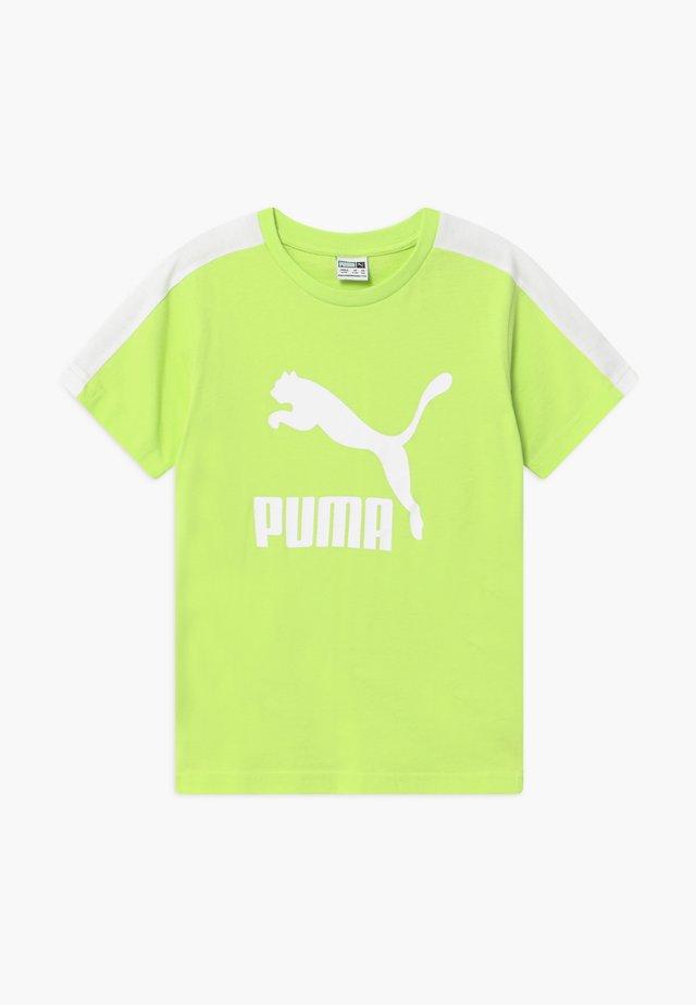 PUMA X ZALANDO TEE - Print T-shirt - sharp green