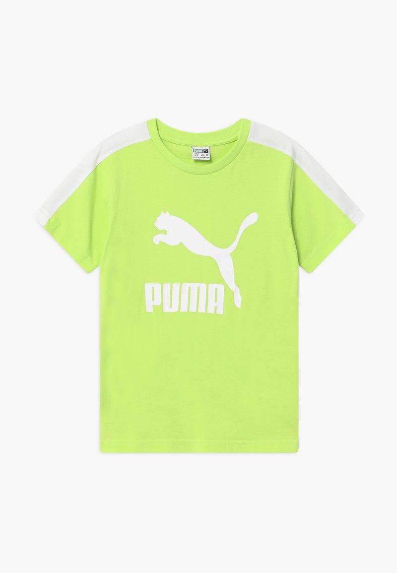 Puma - PUMA X ZALANDO TEE - Print T-shirt - sharp green