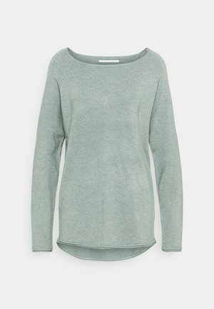 ONLMILA LACY LONG - Strickpullover - chinois green
