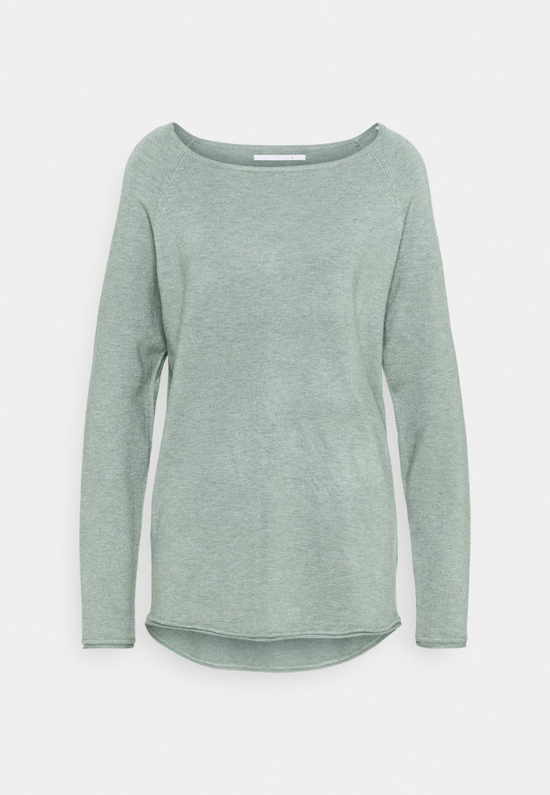 ONLY Tall - ONLMILA LACY LONG - Jumper - chinois green