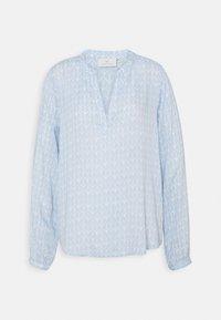 Kaffe - FANA TILLY BLOUSE - Long sleeved top - blue/chalk - 0